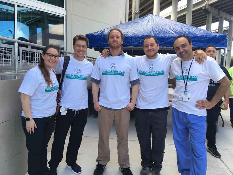 Miami Community Larkin Health Team