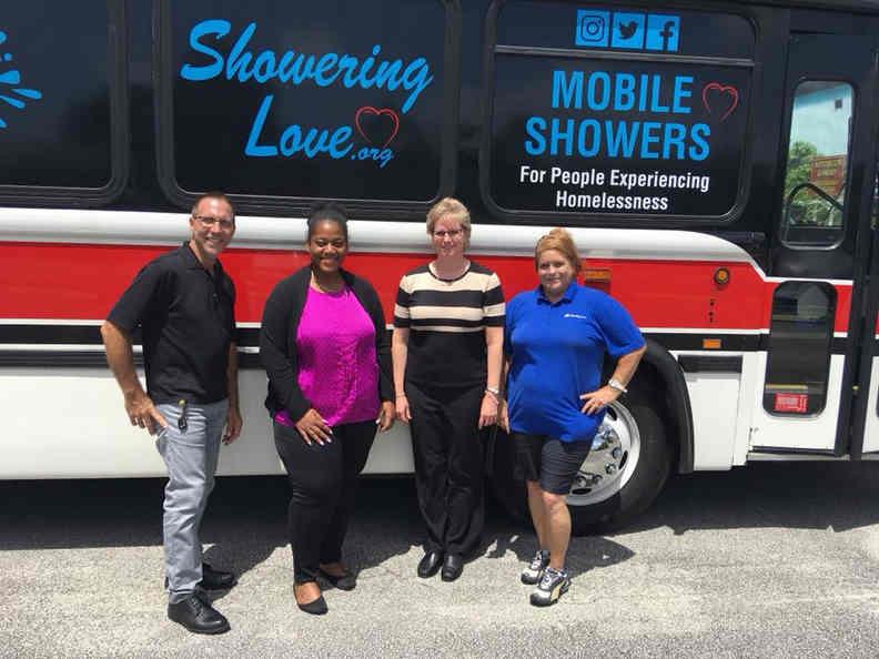 Volunteer with Showering Love