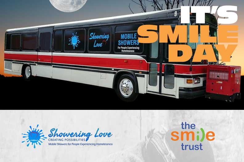 Showering Love and The Smile Trust present Smile Day @ Overtown/Downtown Miami