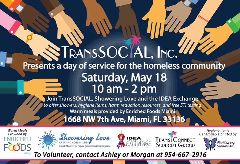 Trans Social - A day of service for the homeless community