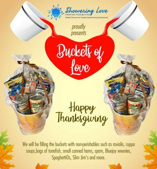 Thanksgiving Buckets Of Love